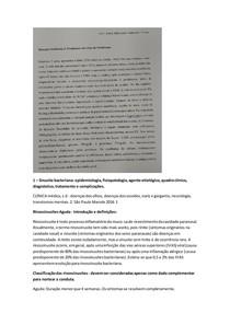 SP 03 MÓD 03 5a FASE - PROBLEMAS EM CIMA DE PROBLEMAS - SINUSITE BACTERIANA + MENINGITE
