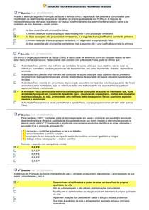 exerc. AV1)- UNIDADES E PROG DE SAÚDE - Educação Física nas U e28c49b397983