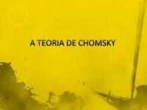 A TEORIA DE CHOMSKY
