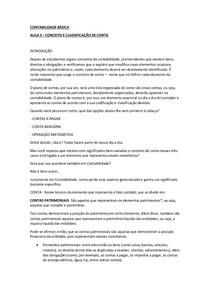 CONTABILIDADE BÁSICA AULA 3