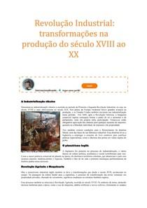 1 1 Revolução Industrial: transformações na produção do século XVIII ao XX - Parte 5