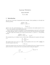 lagrange-multiplier