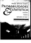 Probabilidades e Estatistica - Paulo Afonso Lopes