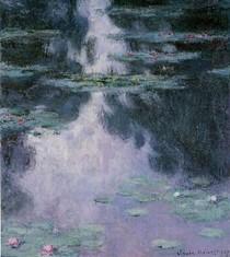 Water Lilies14-Claude Monet
