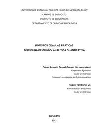 roteiro 2   quimica analitica quantitativa