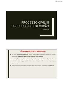 AULA - Processo Civil III - 2º Bimestre
