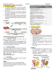 DIABETES MELLITUS- complicacoes