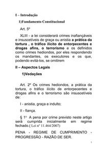 introdução Crimes Hediondos