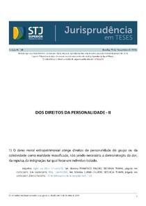 stj vol 137 jurisprudência