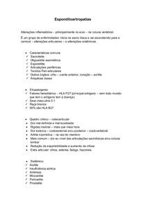 Espondiloartropatias resumo