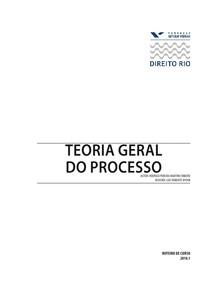 Teoria Geral do Processo - FGV