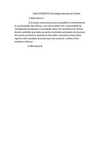 CASO CONCRETO 10 Psicologia aplicada ao direito