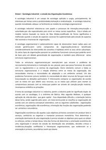 ETZIONI - Organizações Econômicas