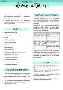 TOXICOLOGIA DE DOMISSANITÁRIOS