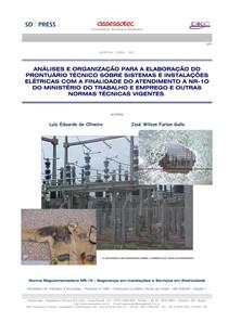 ANÁLISES E ORGANIZAÇÃO PARA A ELABORAÇÃO DO PRONTUÁRIO TÉCNICO SOBRE SISTEMAS E INSTALAÇÕES ELÉTRICA