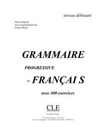 Grammaire Progressive Du Francais -Volume1 (1)