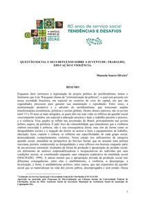 Questão social e seus reflexos sobre a juventude : trabalho educação e violência SILVEIRA