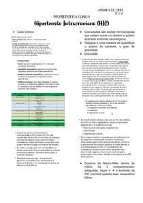 HIPERTENSÃO INTRACRANIANA (HIC)