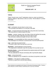 English Cafe 39 Guide   Cópia