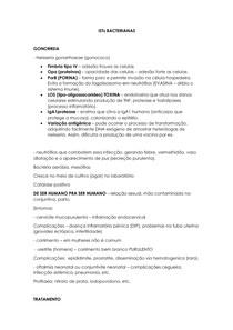 ISTs BACTERIANAS - MAD II