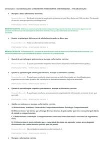 AVALIAÇÃO corrigida ALFABETIZAÇÃO E LETRAMENTO FUNDAMENTOS E METODOLOGIA PÓS-GRADUAÇÃO