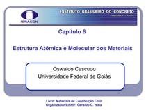 Cap6 Estrutura Atômica E Molecular Dos Materiais Materiais