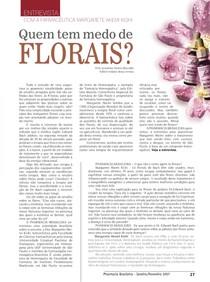 Quem tem medo de florais?