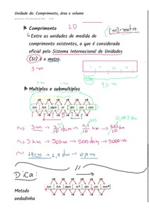 [NOTA DE AULA] Unidades de comprimento, área e volume - parte 2