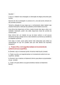 ENADE CIENCIA DOS MATERIAIS - 100