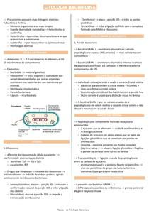 Citologia Bacteriana - Microbiologia