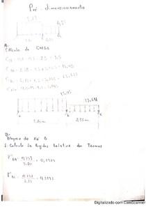 Dimensionamento de viga com 2 tramos por Método de Cross, com alvenaria, com diagrama