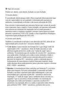 Resumo Anestesia Veterinária