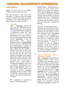 Abdome: diagnóstico diferencial