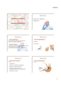 Aula+Farmacocinética+e+Farmacodinâmica