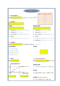 Números Complexos (Resumo)