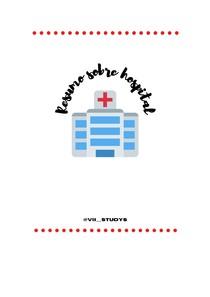 resumo sobre hospital