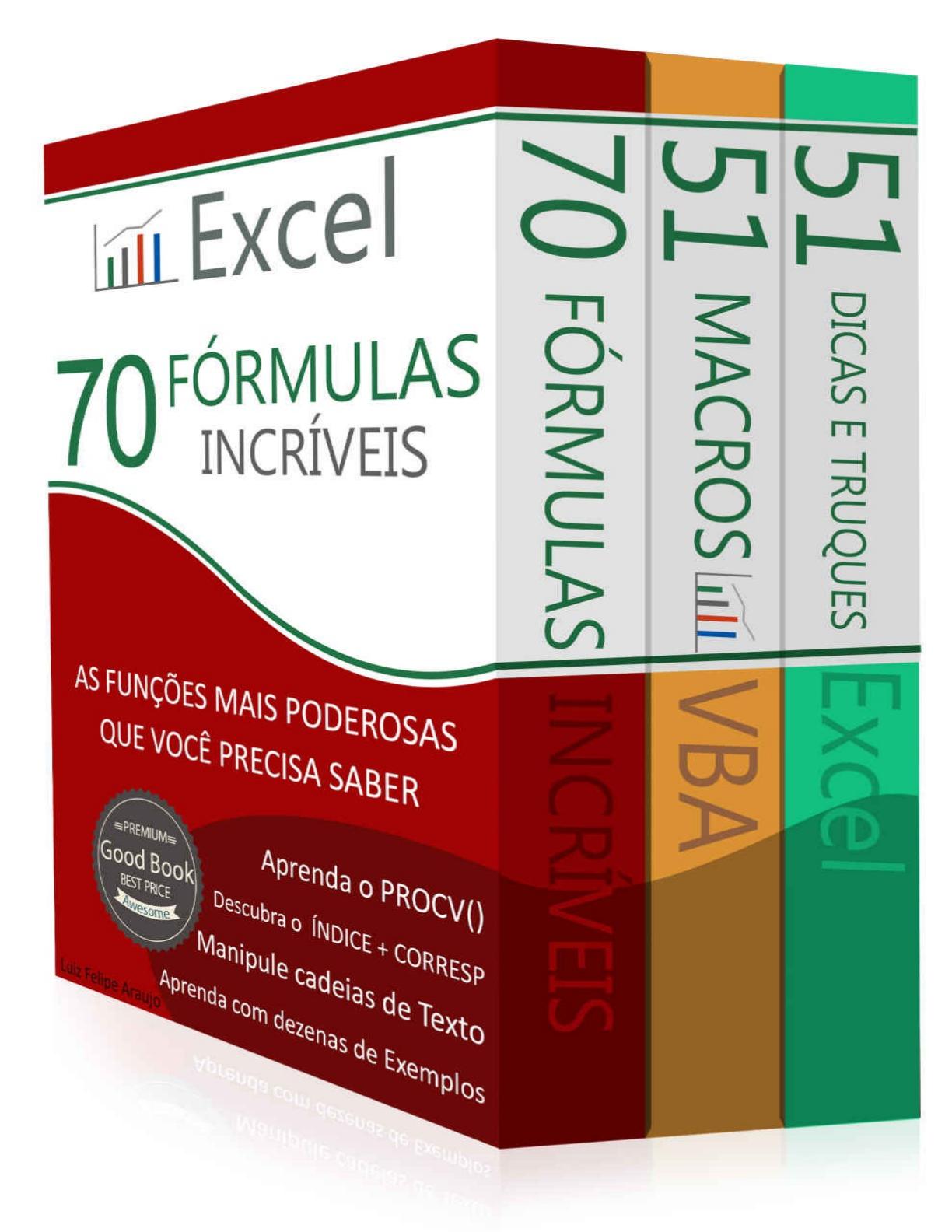 Excel 20 formulas incriveis   Administração Estratégica   20