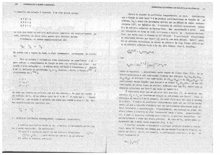 Introdução A Química Quântica P 2 Física Atômica E Molecular